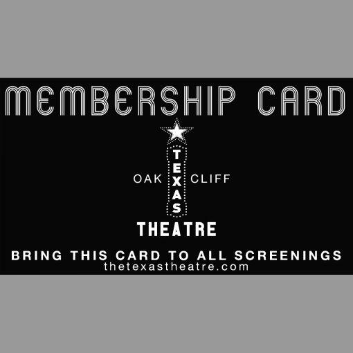 Texas Theatre Membership Card
