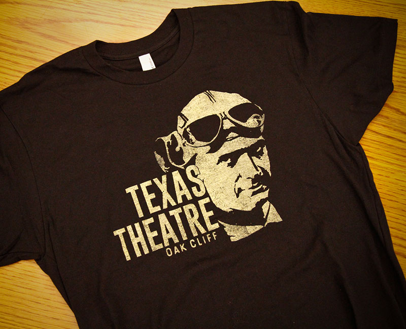 Howard Hughes Texas Theatre T-Shirt