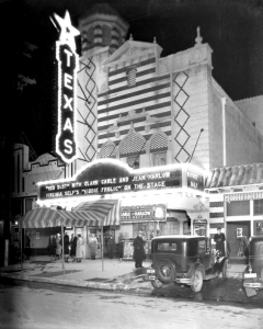 Historic Theater Sign Photograph Texas Theatre
