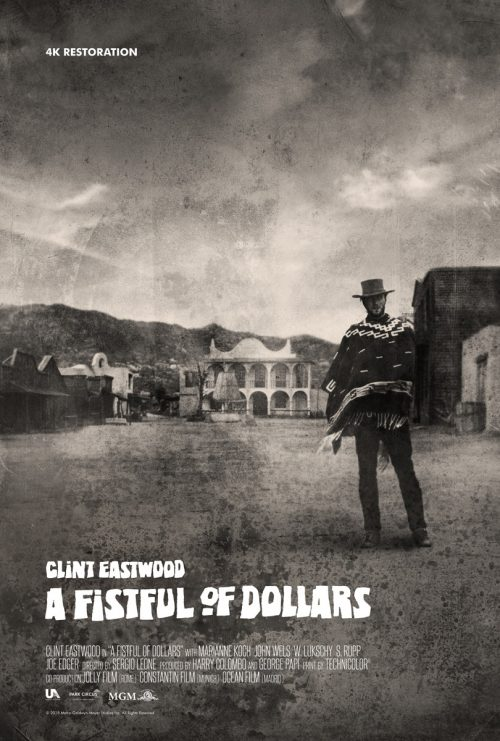 Fistfull Of Dollars Poster X