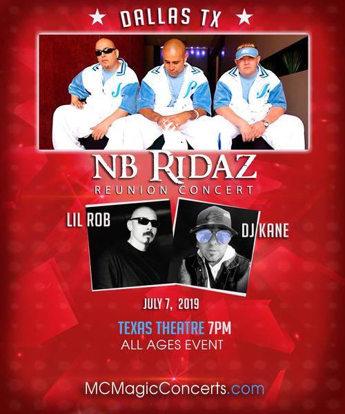 MC Magic Concerts Presents NB Ridaz Reunion with Special